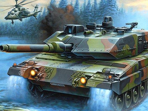 Zbirka slagalica Ratni tenkovi
