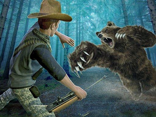 Pucanje snajperskog lova na divljeg medvjeda