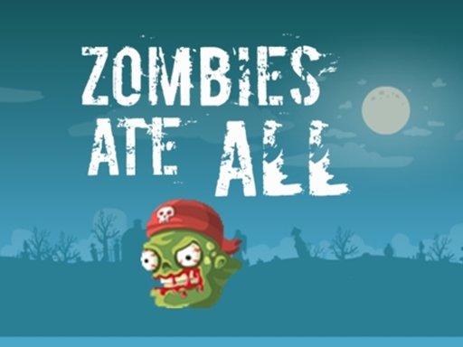 Zombi jeo sve